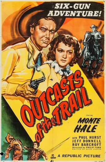 Poster of Outcasts of the Trail