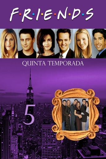 Friends 5ª Temporada - Poster