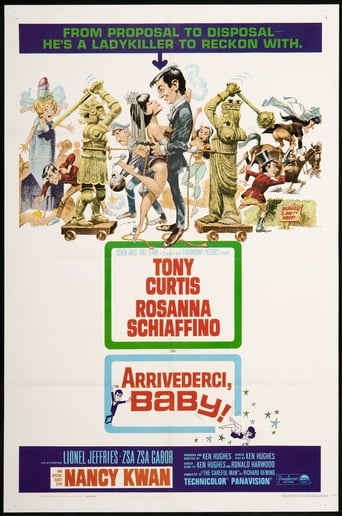 Poster of Arrivederci, Baby!