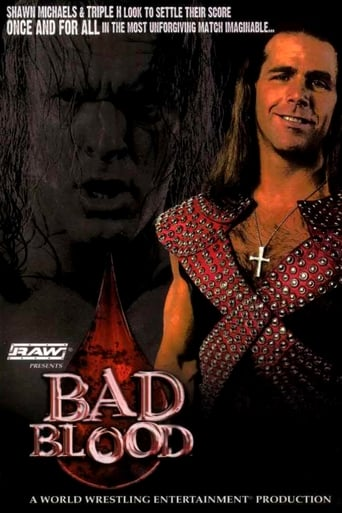Poster of WWE Bad Blood 2004