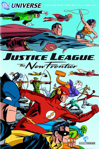 Justice League: The New Frontier (2008) - poster