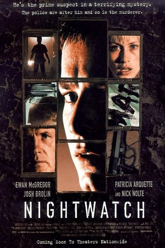 Official movie poster for Nightwatch (1998)