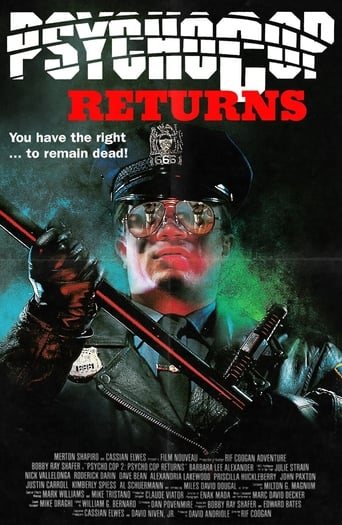 Poster of Psycho Cop Returns