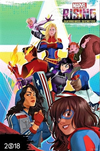 Baixar Marvel Rising: Guerreiros Secretos Torrent (2018) Dublado / Dual Áudio 5.1 BluRay 720p | 1080p Download