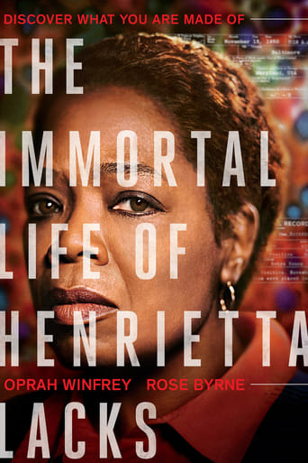 Poster of The Immortal Life of Henrietta Lacks fragman