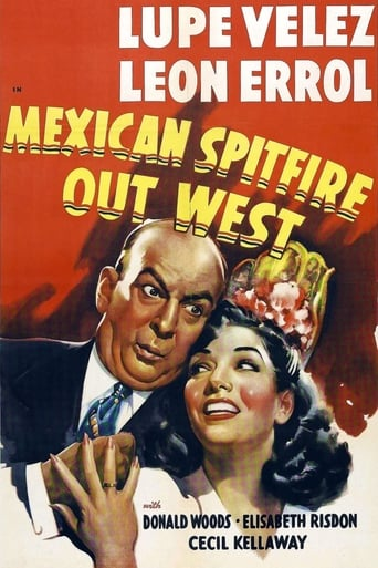 Poster of Mexican Spitfire Out West