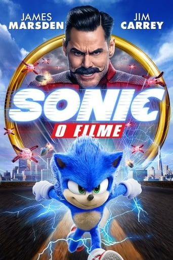 Sonic: O Filme - Poster