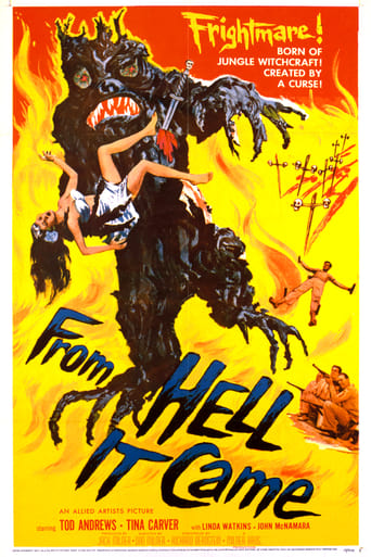 Poster of From Hell It Came