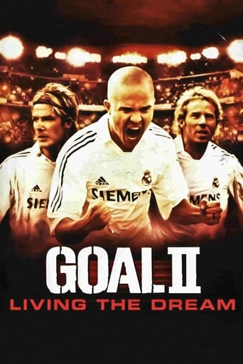 Official movie poster for Goal! II: Living the Dream (2007)