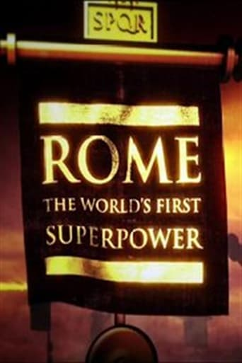 Poster of Rome: The World's First Superpower