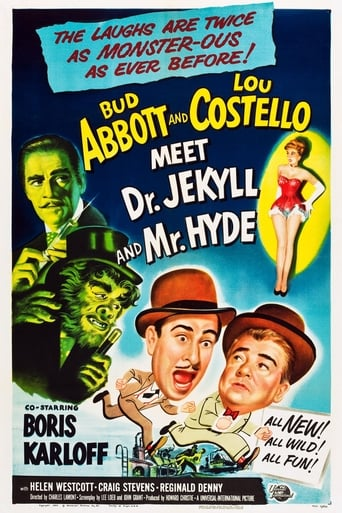 Poster of Abbott and Costello Meet Dr. Jekyll and Mr. Hyde