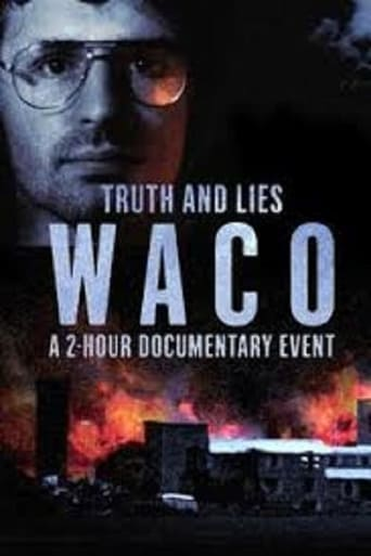 Truth and Lies: Waco poster