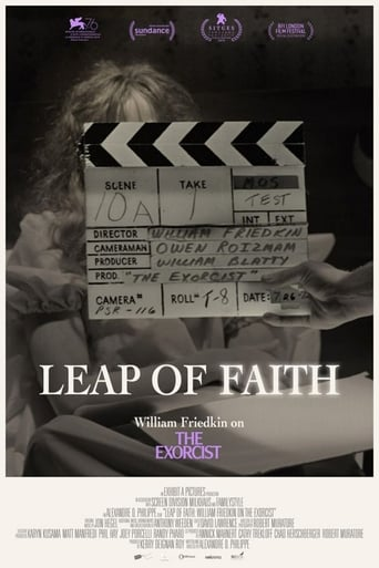 Poster of Leap of Faith: William Friedkin on The Exorcist
