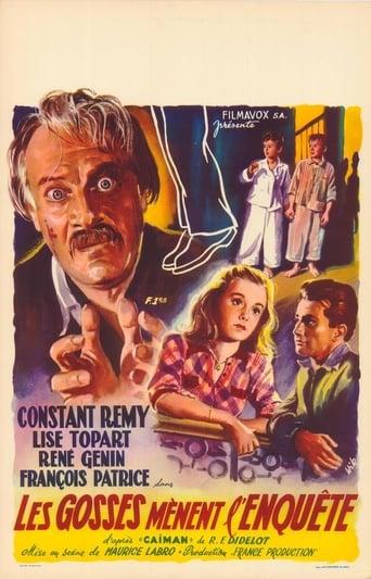 Poster of Les gosses mènent l'enquête
