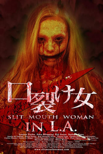 Poster of Slit Mouth Woman in LA