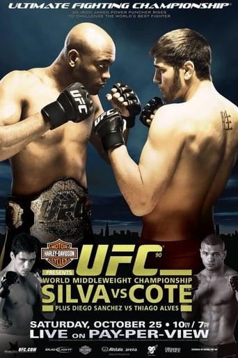 Poster of UFC 90: Silva vs. Cote