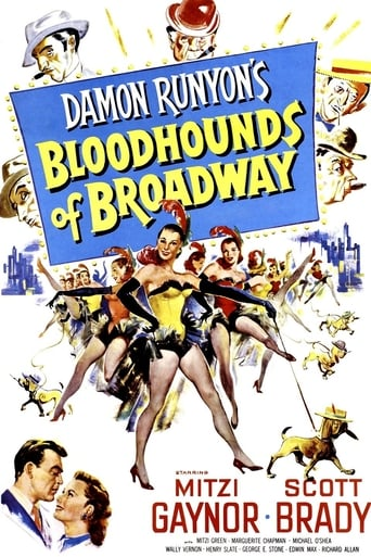 Poster of Bloodhounds of Broadway