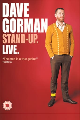 Poster of Dave Gorman: Stand-Up. Live.