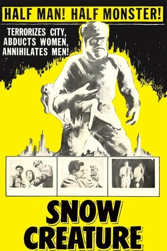 Poster of The Snow Creature