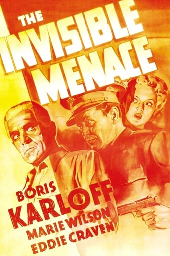 Poster of The Invisible Menace