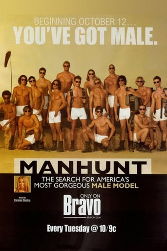 Poster of Manhunt: The Search for America's Most Gorgeous Male Model