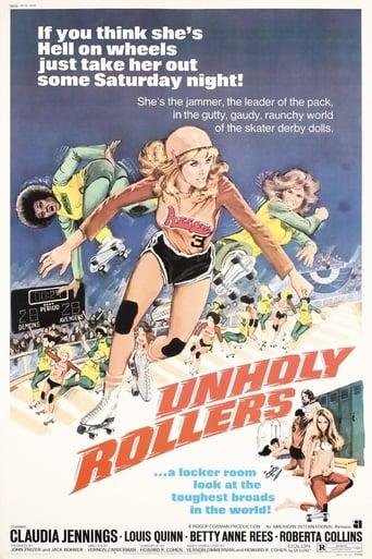 Poster of Las violentas del Rollerball
