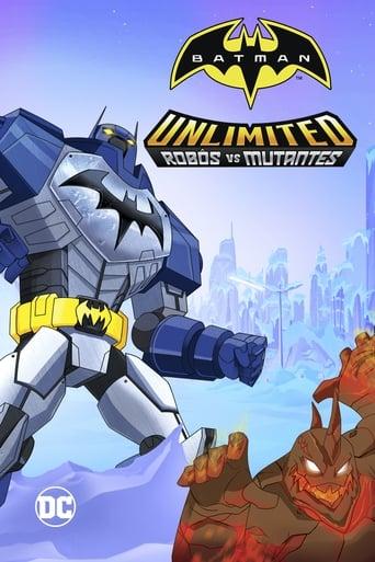 Batman sem Limites: Mechas vs. Mutantes - Poster