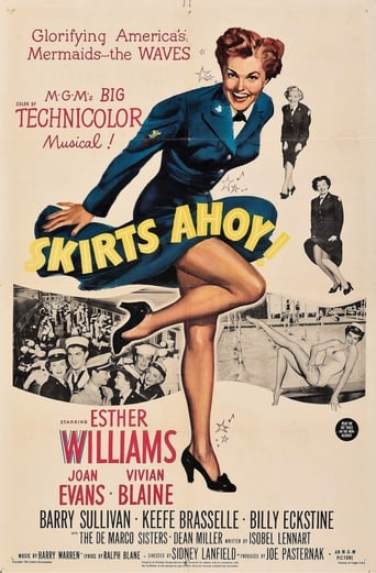 Poster of Skirts Ahoy!