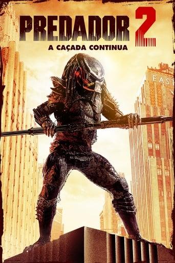 O Predador 2: A Caçada Continua - Poster