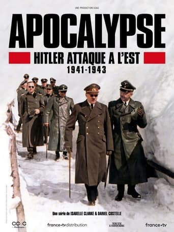 Poster Apocalypse, Hitler Attaque à l'Est