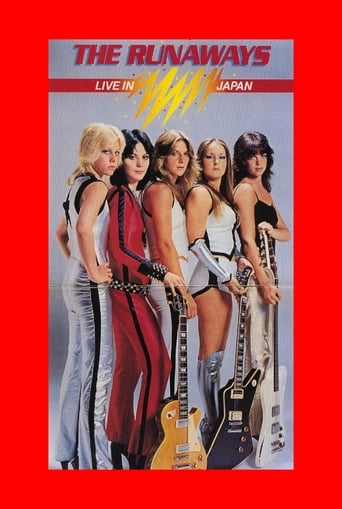 Poster of The Runaways Live in Japan