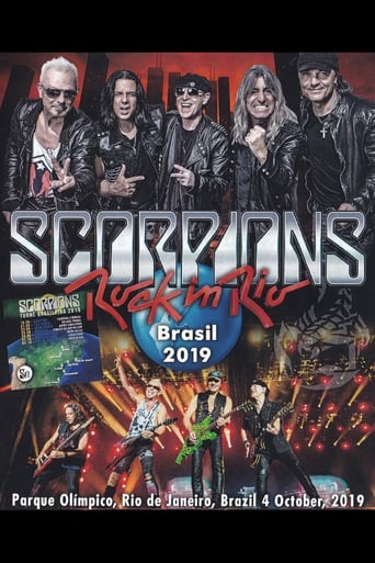 Scorpions Rock In Rio - Poster