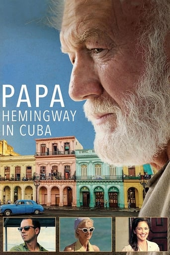 Poster of Papa Hemingway in Cuba fragman