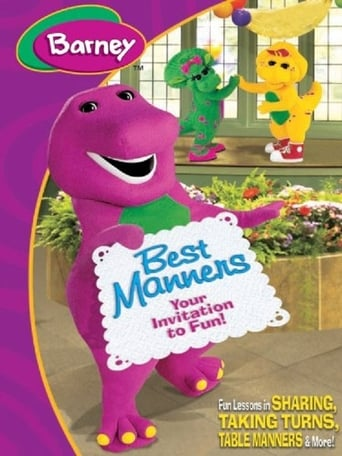 Poster of Barney: Best Manners - Invitation to Fun