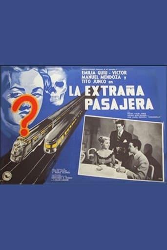 Poster of La extraña pasajera