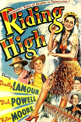 Poster of Riding High