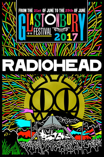 Poster of Radiohead at Glastonbury 2017