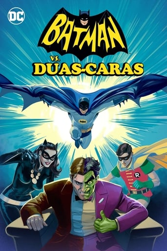 Batman vs. Duas-Caras - Poster