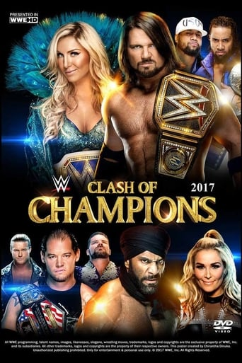 Poster of WWE Clash of Champions 2017