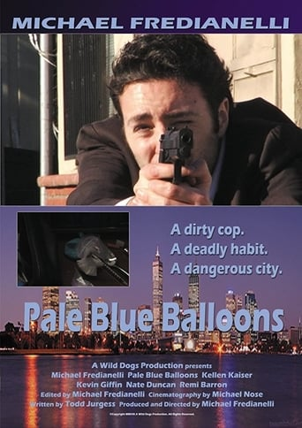 Poster of Pale Blue Balloons