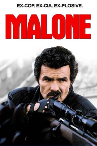 Malone (1987) - poster