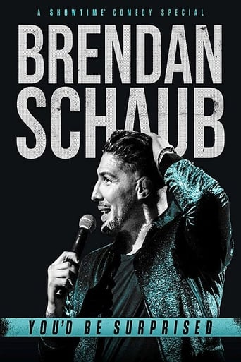Brendan Schaub: You'd Be Surprised Poster