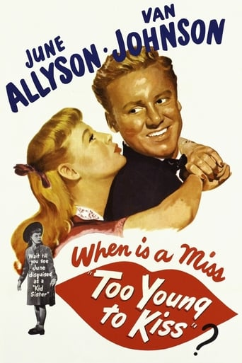 Poster of Too Young to Kiss