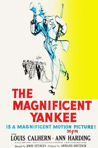 poster of The Magnificent Yankee