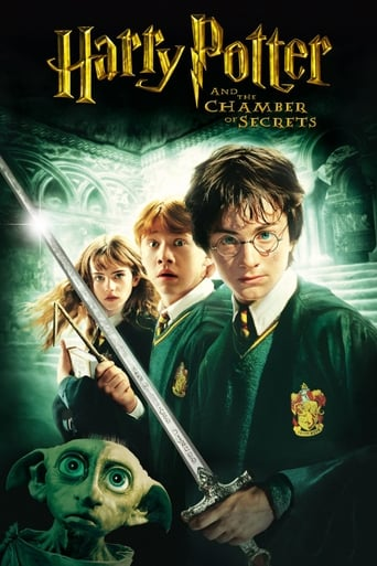 Official movie poster for Harry Potter and the Chamber of Secrets (2002)