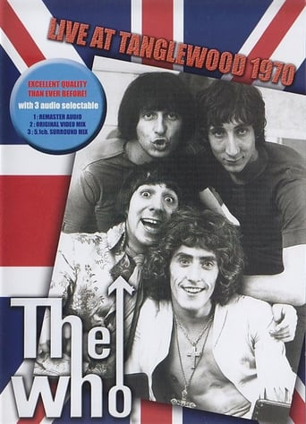 Poster of The Who ‎– Live At Tanglewood 1970