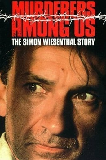 Poster of Murderers Among Us: The Simon Wiesenthal Story