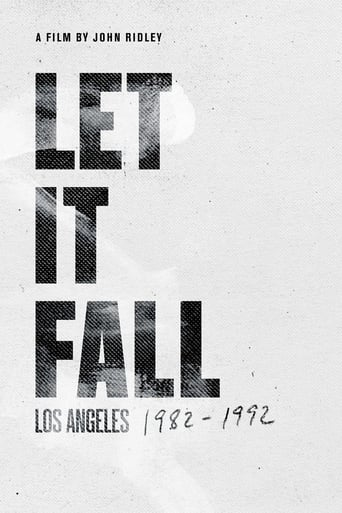 Poster of Let It Fall: Los Angeles 1982-1992