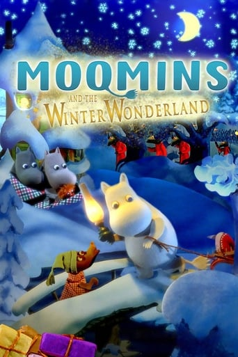Poster of Moomins and the Winter Wonderland