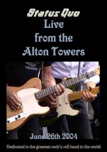 Poster of Status Quo Live Alton Towers England